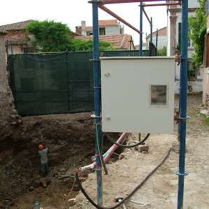 şantiye elektrik projesi